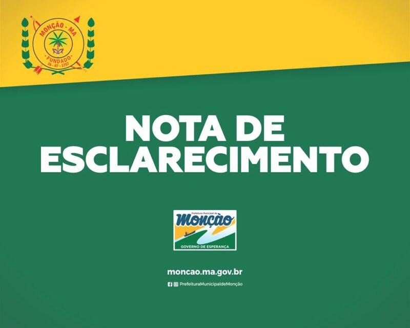 Prefeitura de Monção Se Manifesta e Denuncia Suposta Tentativa de Golpe Político de Grupo de Oposição.