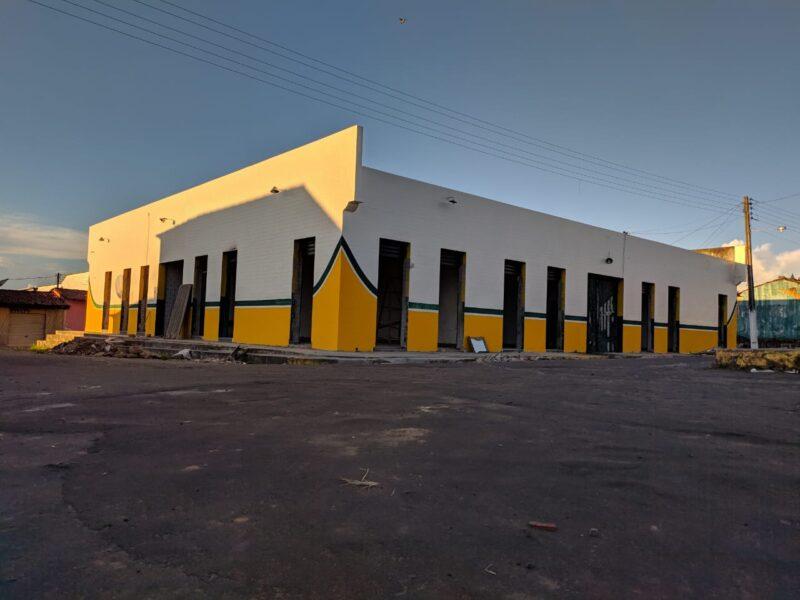 Obras da Reforma do Mercado Municipal Raimundo Reis Segue em Andamento