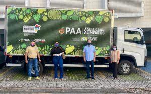Prefeitura de São João do Caru recebe caminhão para reforçar Programa de Aquisição de Alimentos-PAA no município