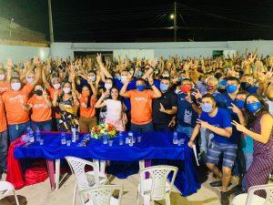 Pré-candidato à reeleição Roberto do Posto mostra força política em Gov.Newton Bello.