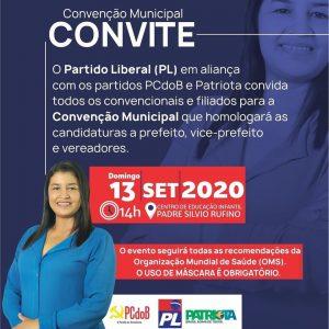 Amapá do Maranhão – É hoje a grande Convenção do PL, PCdoB e Patriota que promete marcar a história do município.
