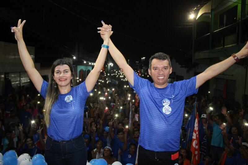 Boa Vista do Gurupi: Mega Arrastão e Comício da Vitória histórico é realizado em apoio a Dilcilene Oliveira e Marquinho da Pesca
