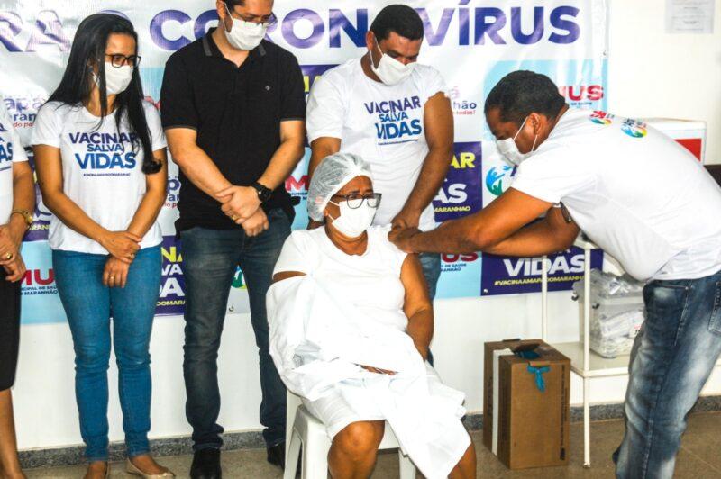Iniciada a Vacinação contra a Covid-19 em Amapá do Maranhão