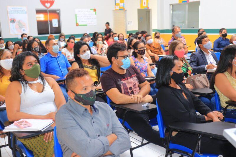 Jornada pedagógica encerra com saldo positivo na formação de comunidade escolar em Governador Newton Bello