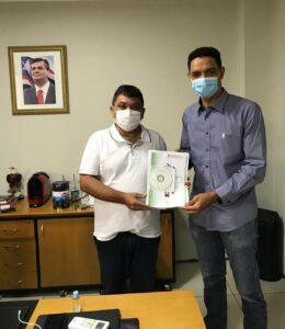 Prefeito Dr. Pedro Paulo reúne com secretário de Governo por melhorias à população