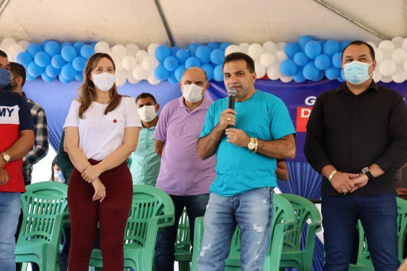 Governador Newton Bello irá receber recursos para obras através de emendas do deputado federal Josimar Maranhãozinho