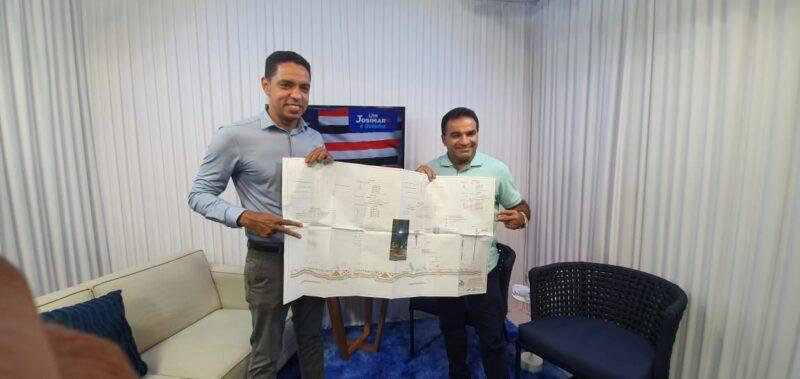 Presidente Juscelino terá obra na Beira Rio com apoio de Josimar Maranhãozinho